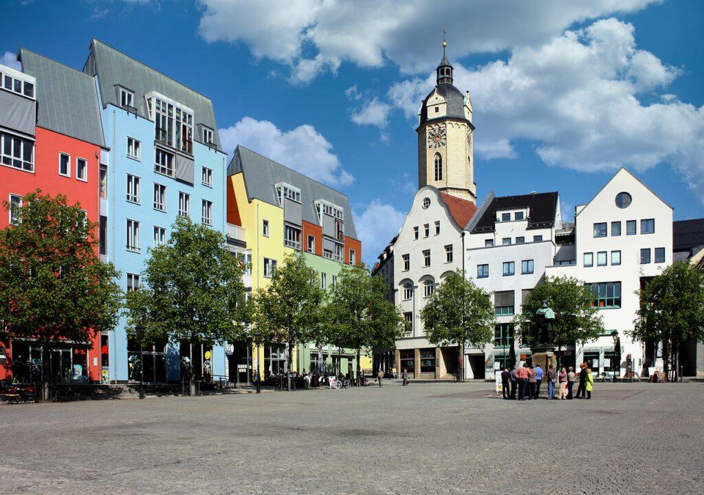 Jena historischer Marktplatz